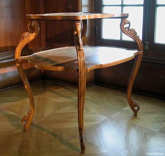Emile Gallé - Meuble Table à Thé 1897