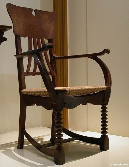 Gustave Serrurier-Bovy - Fauteuil 1895