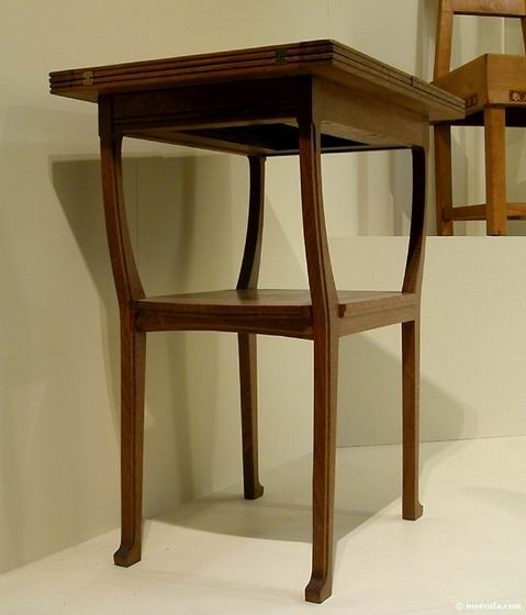 Gustave Serrurier-Bovy - Table 1905 - 1910