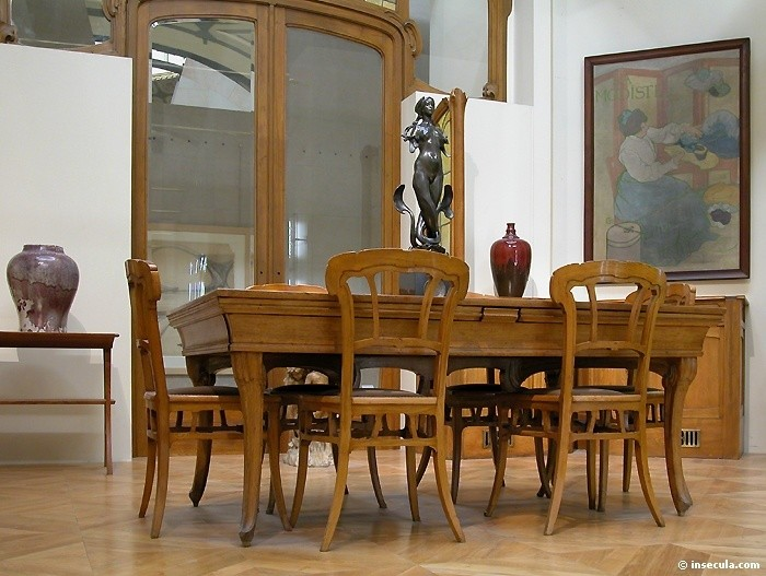 Victor Horta - Table & Chaises 1902-1904