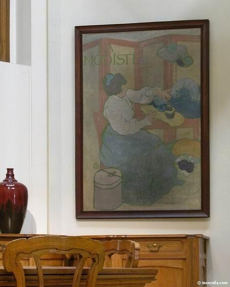 Alexandre Charpentier - Peinture Portrait 1893-1896