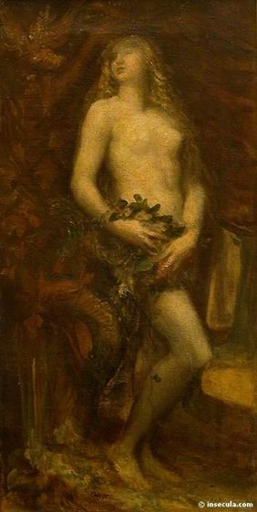 George Frederic Watts - Portrait d'Eve