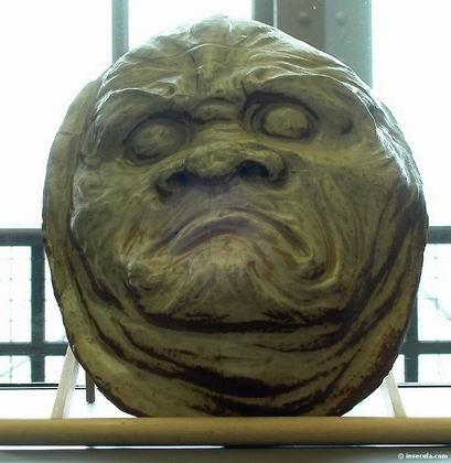 Jean Joseph Marie Carriès - Sculpture Masque d'horreur 1891-1892