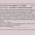 104 - Commentaires du 13.03.06