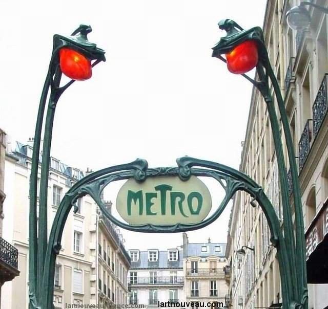 Guimard - Métro Les candélabres