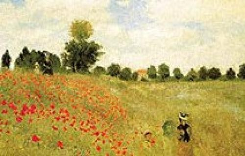 Claude-Monet - Campo-di-papaveri