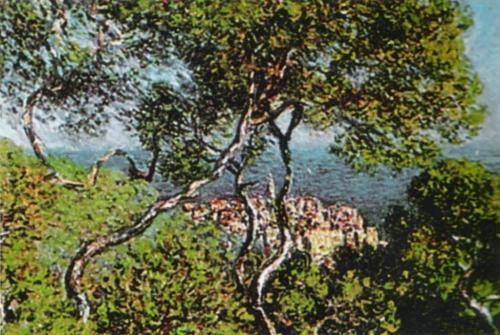 Claude-Monet - Paesaggio-a-Bordighera