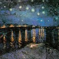 Vincent Van Gogh - Starlight Over The-Rhone