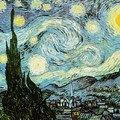 Vincent Van Gogh - Starry Night -2