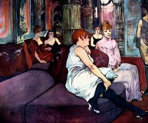Toulouse-Lautrec - Femmes assises