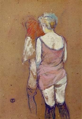 Toulouse-Lautrec - Toutes nues