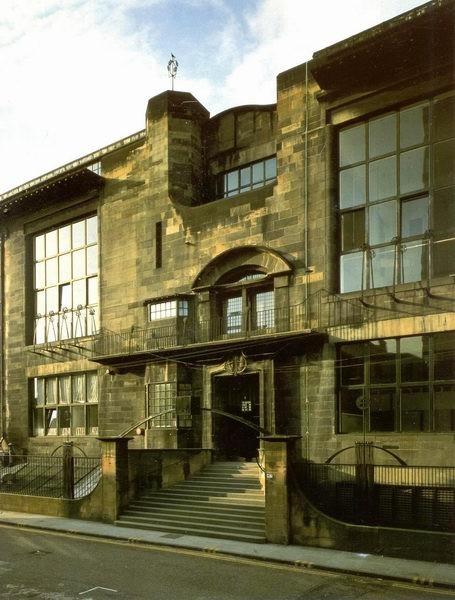 Charles Rennie Mackintosh - Ecole à Glasgow (1)