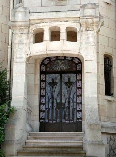 Léon Cayotte - Villa Fruhinsholz - Entrée