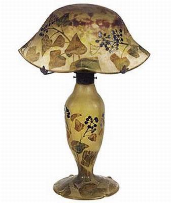 Auguste et Antonin Daum - Lampe