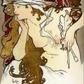 Alphonse Mucha - salon de Mucha