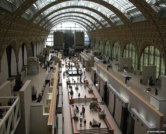 Musée d'Orsay -Vue d'endemble intérieure (3)