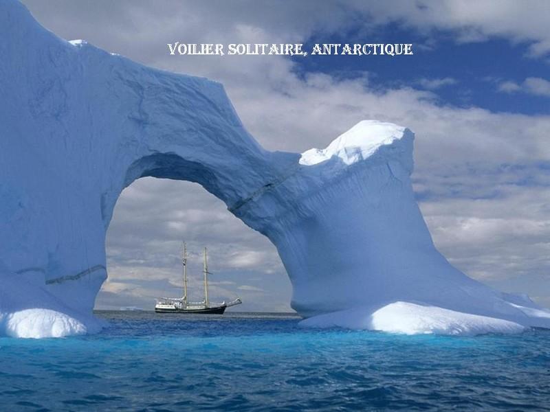 Antarctique - Voilier