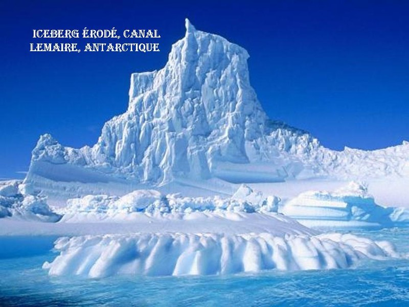 Icberg - Antarctique