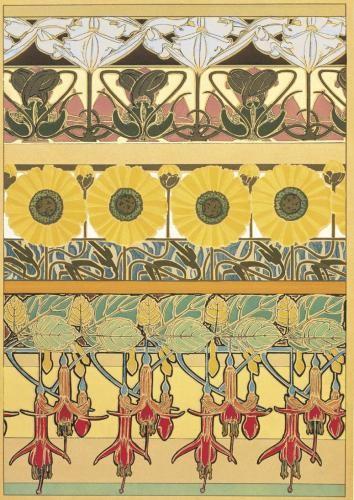 Alphonse-Mucha - Document Decoratif -1902