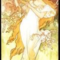 Alphonse Mucha - Le Printemps - 1897