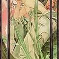 Alphonse Mucha - Le soir