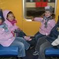 Les 4 mouflets dans le RER