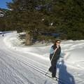 Ski de fond à Chamrousse (moi)