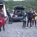 prêts pour le rafting