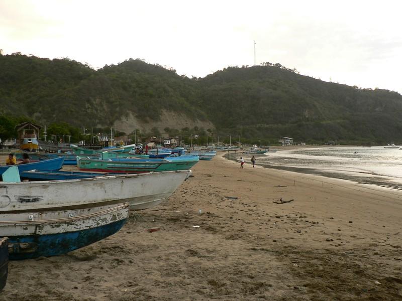 Plage de Puerto Lopez