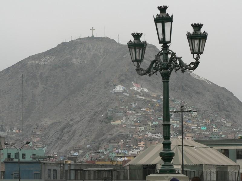 Les quartiers pauvres de Lima