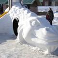 2ème visite à la fête des neiges