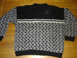 Pull graphique homme