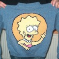Pull Simpsons pour Vic