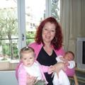 Mamie Danielle et ma cousine Lina