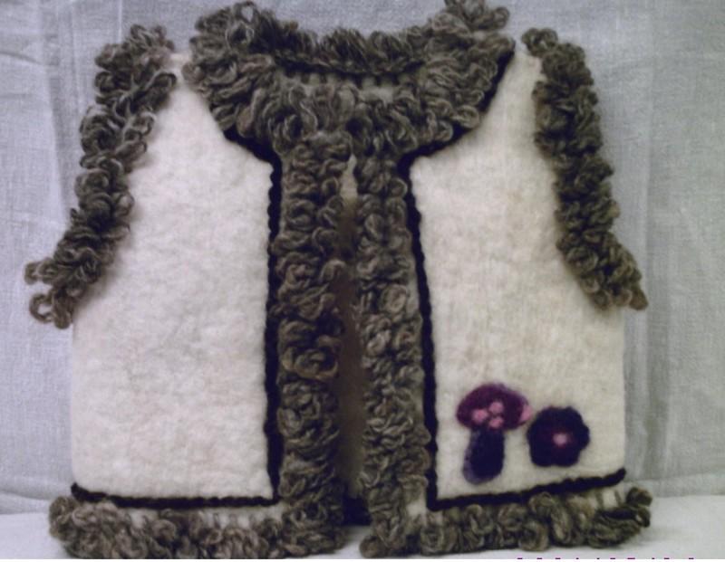 1er essai avec la laine de