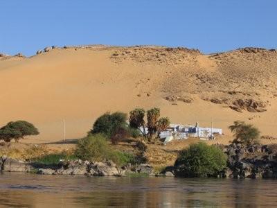 Vers le village Nubien