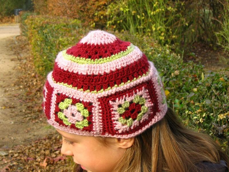 Bonnet crochet collection 2005
