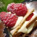 Millefeuille vanille fraise sans gluten 2