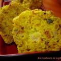 Muffins du soleil zoom et coupe