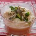 Crème de céleri roquefort et cumin