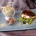 foie gras poêlé asperge crème de champignons
