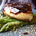 foie gras poêlé asperge crème de champignons zoom 1