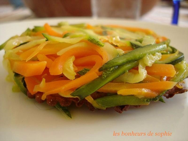 tatin légère de légumes