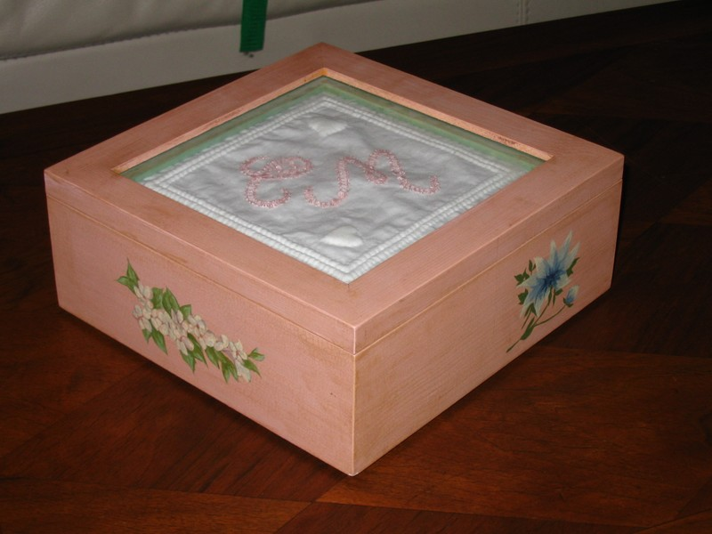 La boite à trésor de ma fille