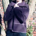 Blanket cardigan dans Sarah Dallas Knitting/juil-oct 05