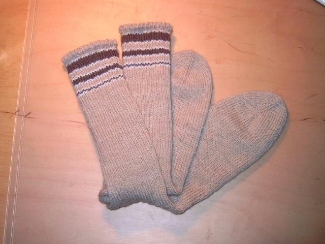 Chaussettes pour homme/ janvier-février 2006