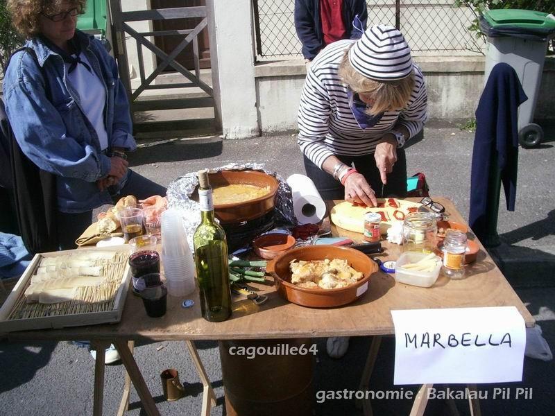 concours gastronomique : Bakalau Pil Pil ( à base d'huile d'olive et de poisson)