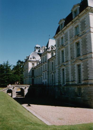 Château de Cheverny, les douves