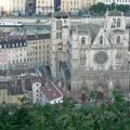 cathédrale saint-jean vue de fourvière