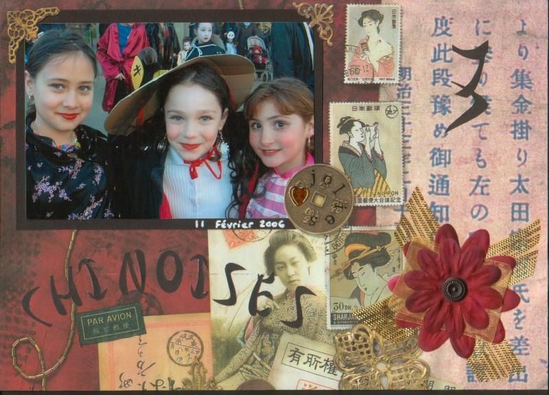 3 jolies chinoises